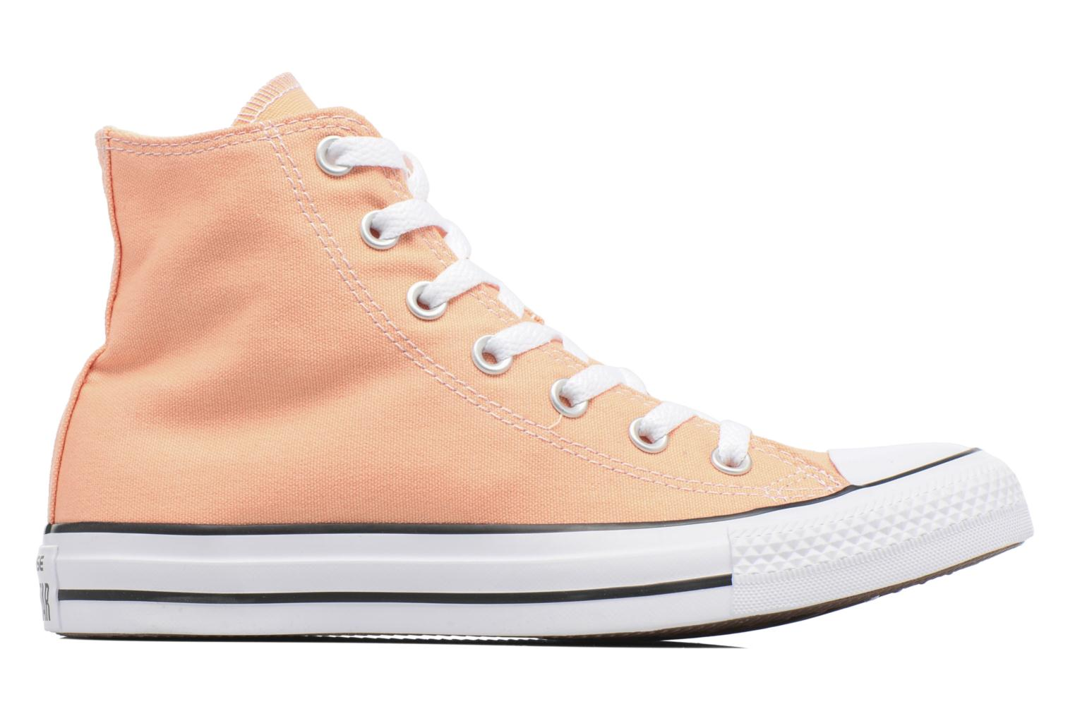 Baskets Converse Chuck Taylor All Star Hi W Orange vue derrière