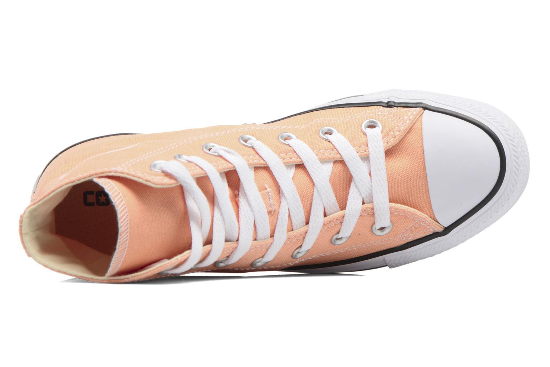 Sneakers Converse Chuck Taylor All Star Hi W Orange se fra venstre