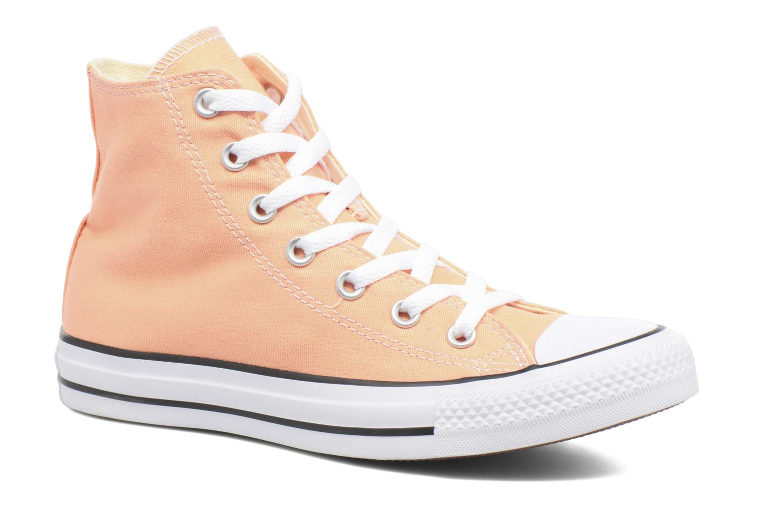 Baskets Converse Chuck Taylor All Star Hi W Orange vue détail/paire
