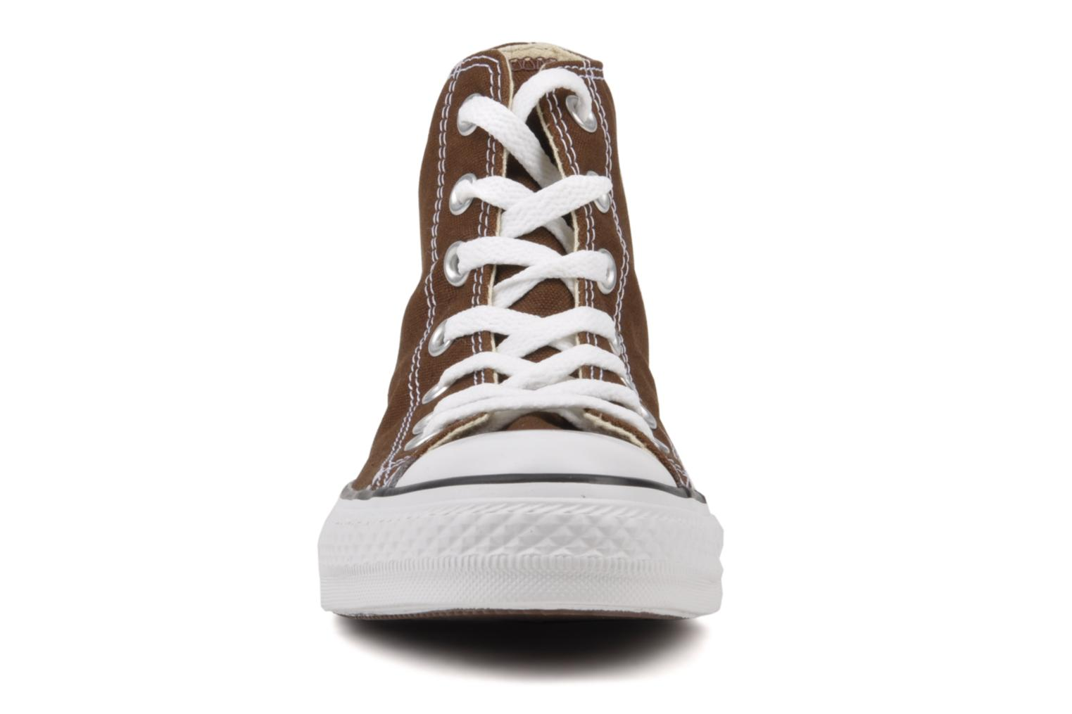 Sneakers Converse Chuck Taylor All Star Hi W Marrone modello indossato