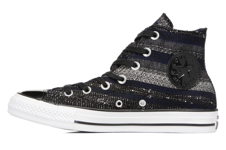 Sneakers Converse Chuck Taylor All Star Hi W Zwart voorkant