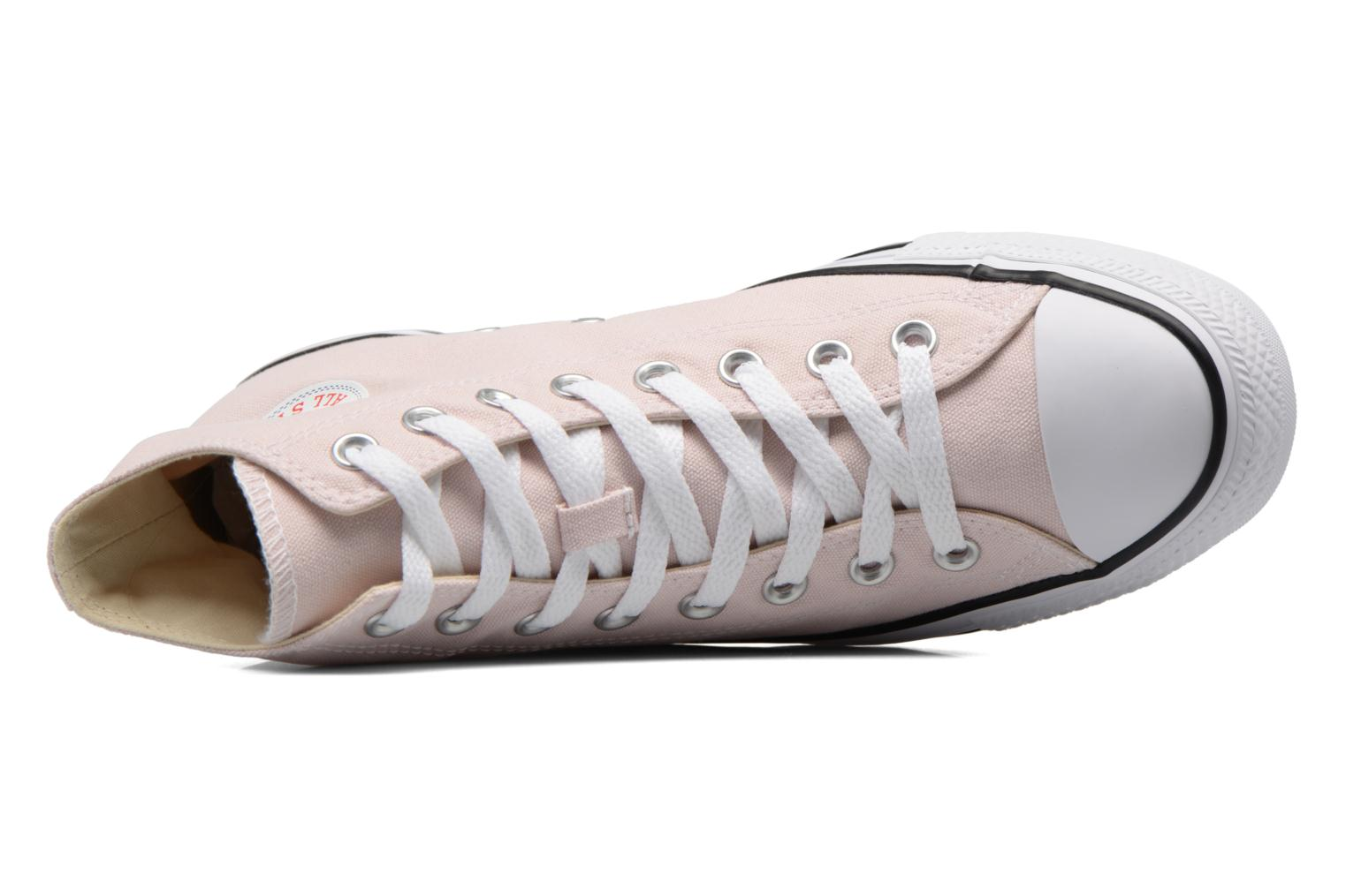 Baskets Converse Chuck Taylor All Star Hi W Rose vue gauche