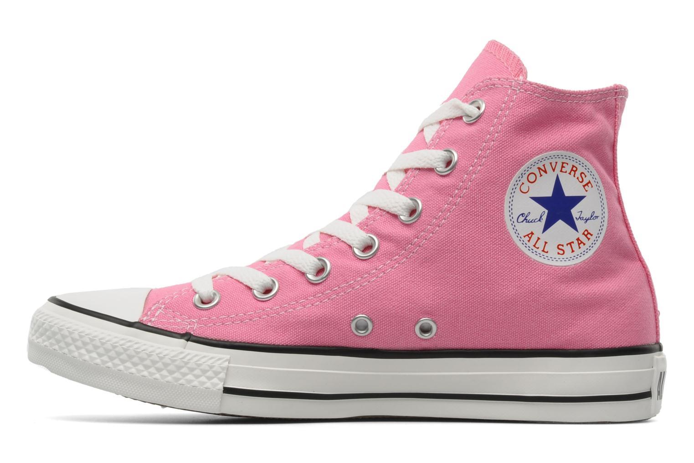 Sneaker Converse Chuck Taylor All Star Hi W rosa ansicht von vorne