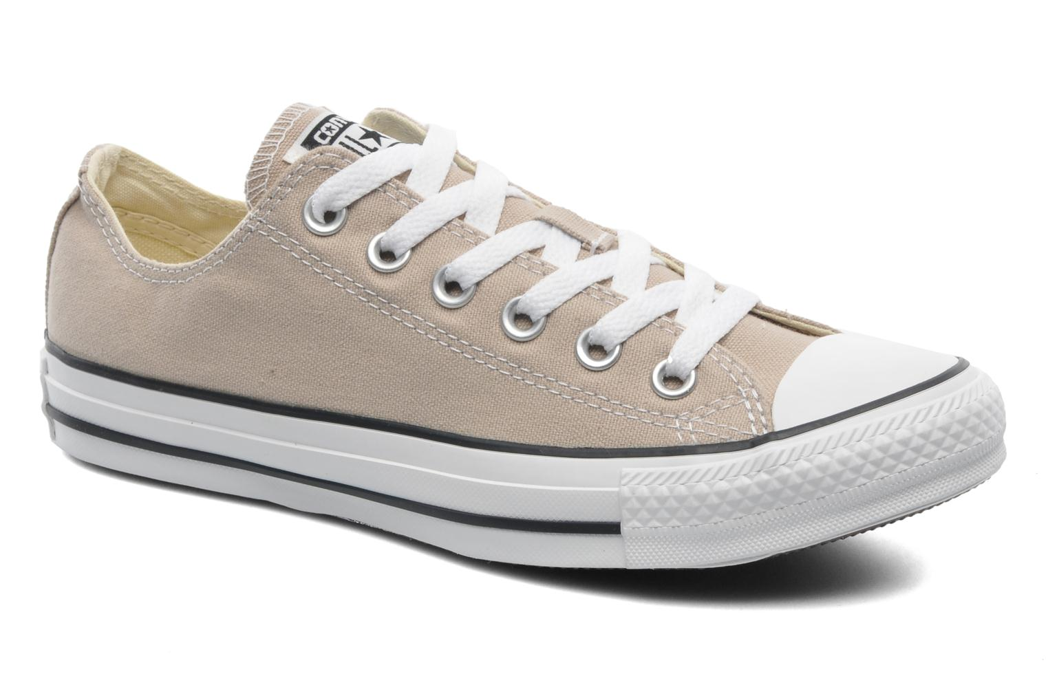 converse all star ox beige