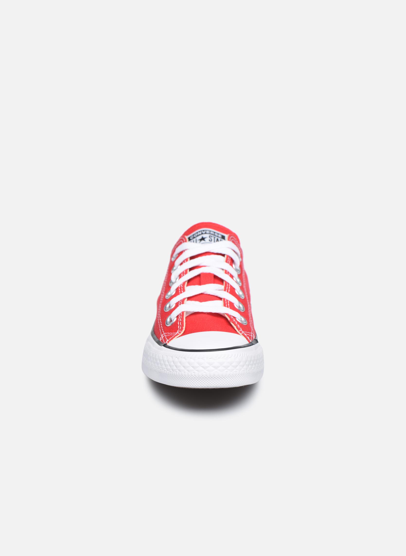 Sneaker Converse Chuck Taylor All Star Ox W rot schuhe getragen