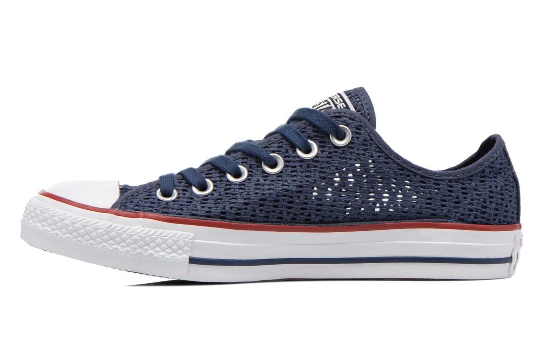 Sneaker Converse Chuck Taylor All Star Ox W blau ansicht von vorne