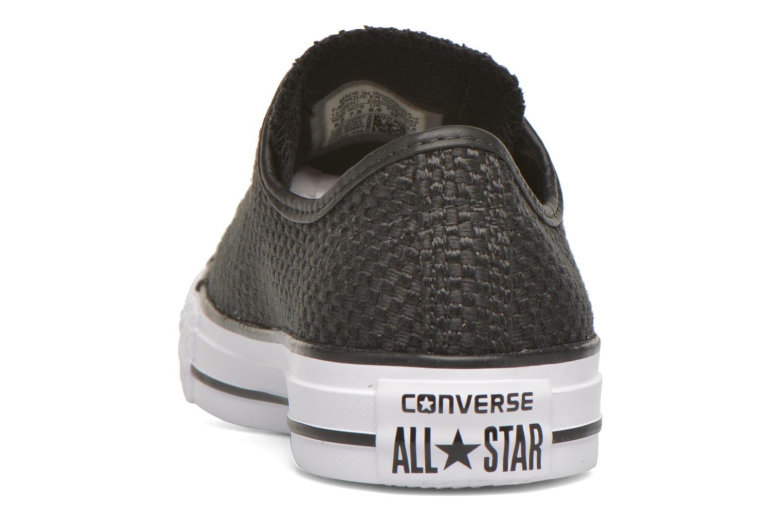Sneaker Converse Chuck Taylor All Star Ox W schwarz ansicht von rechts