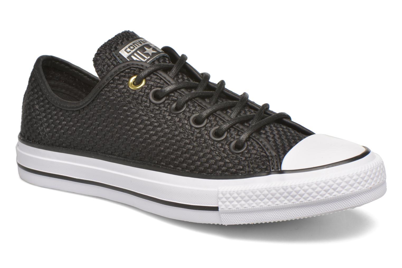 Sneakers Converse Chuck Taylor All Star Ox W Zwart detail