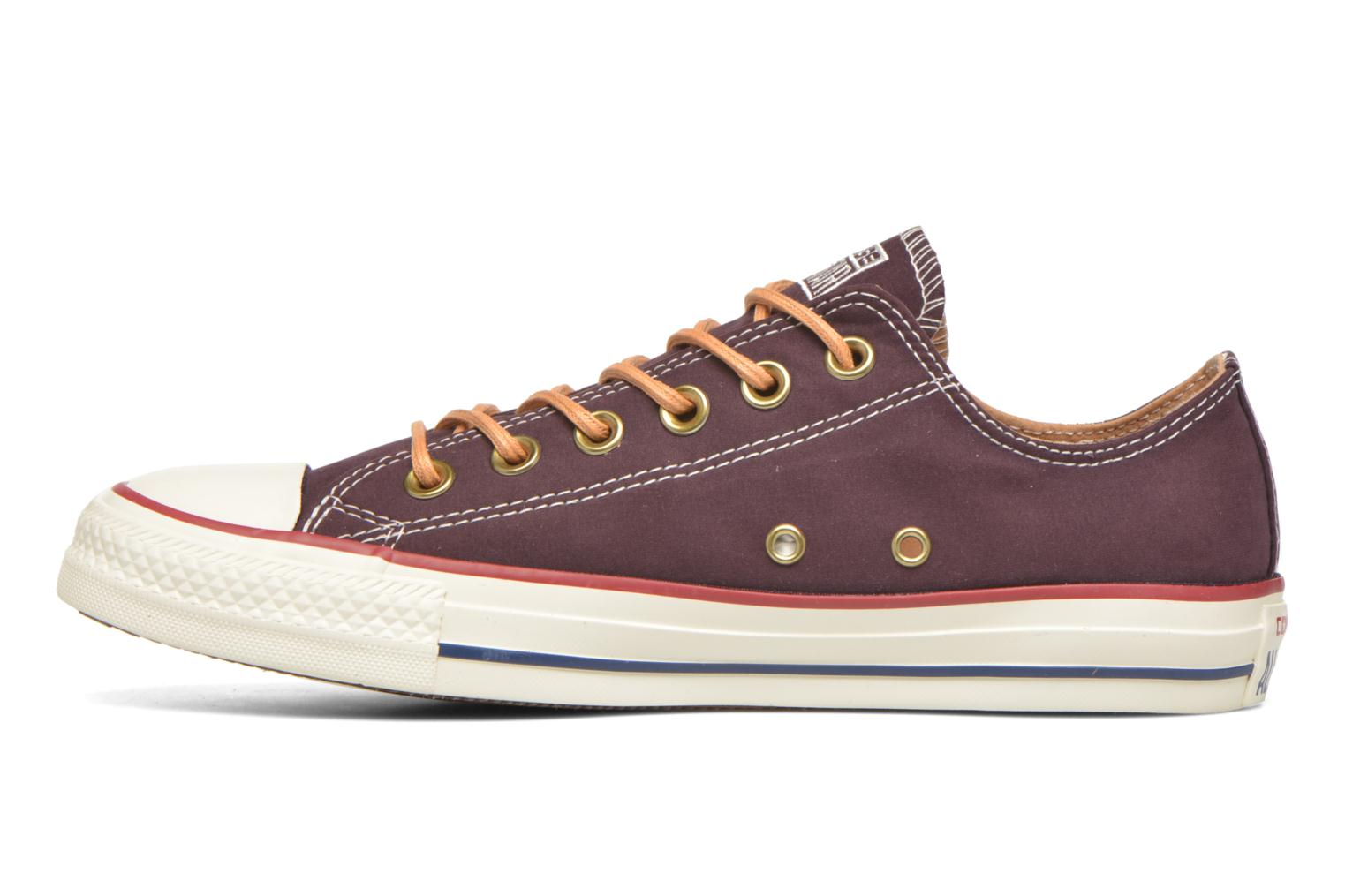 Baskets Converse Chuck Taylor All Star Ox W Bordeaux vue face