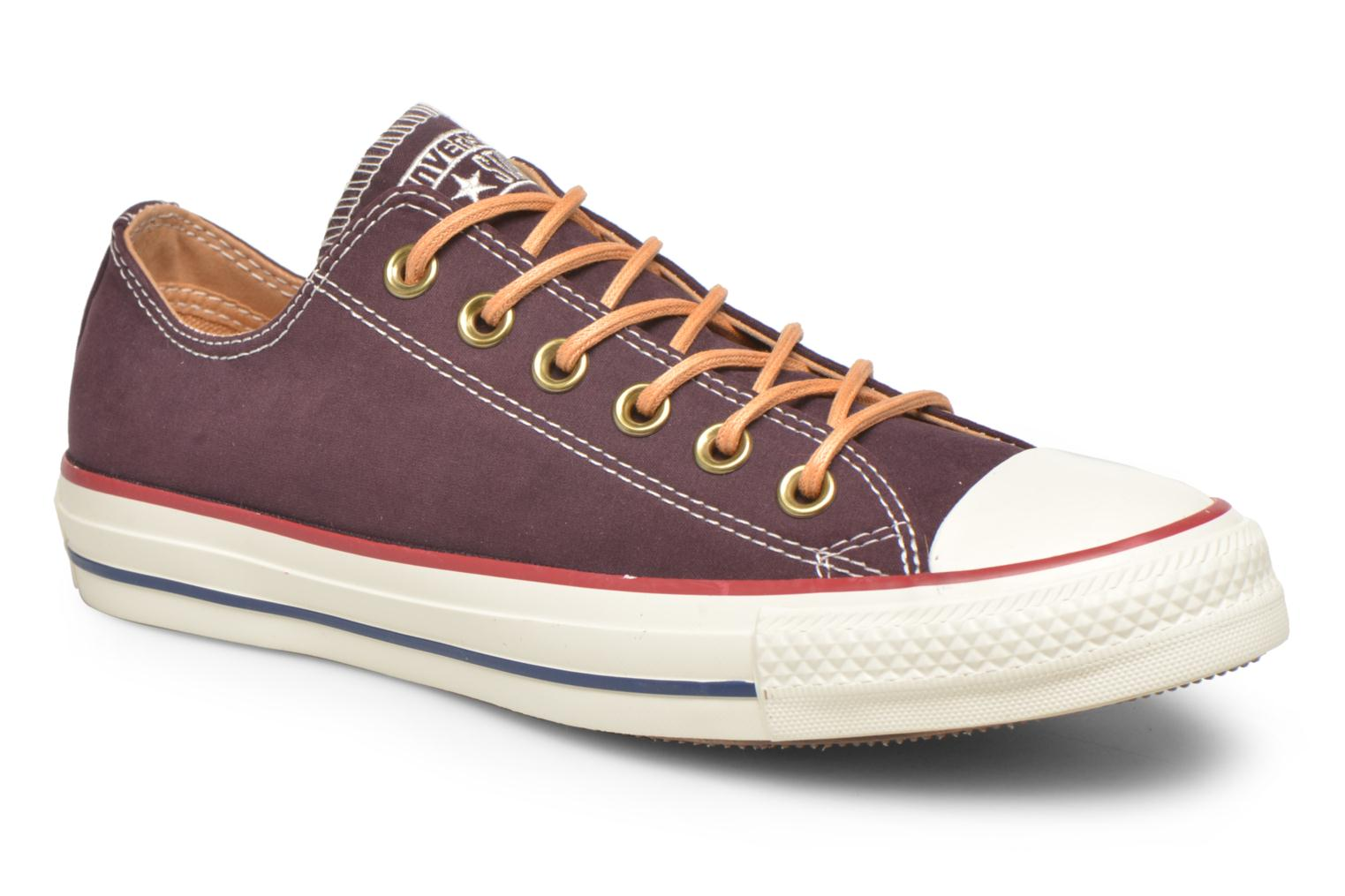 Chuck Taylor All Star Ox W Black Cherry/Biscuit/Egret