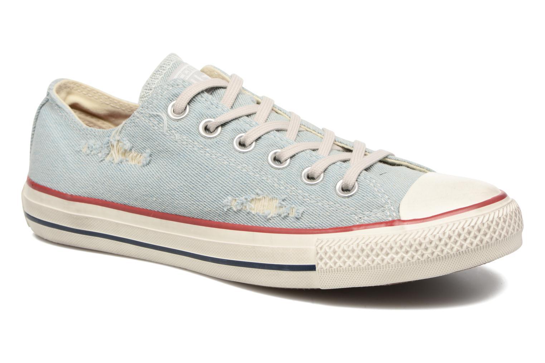 Zapatos promocionales Converse Chuck Taylor All Star Ox W (Azul) - Deportivas   Gran descuento