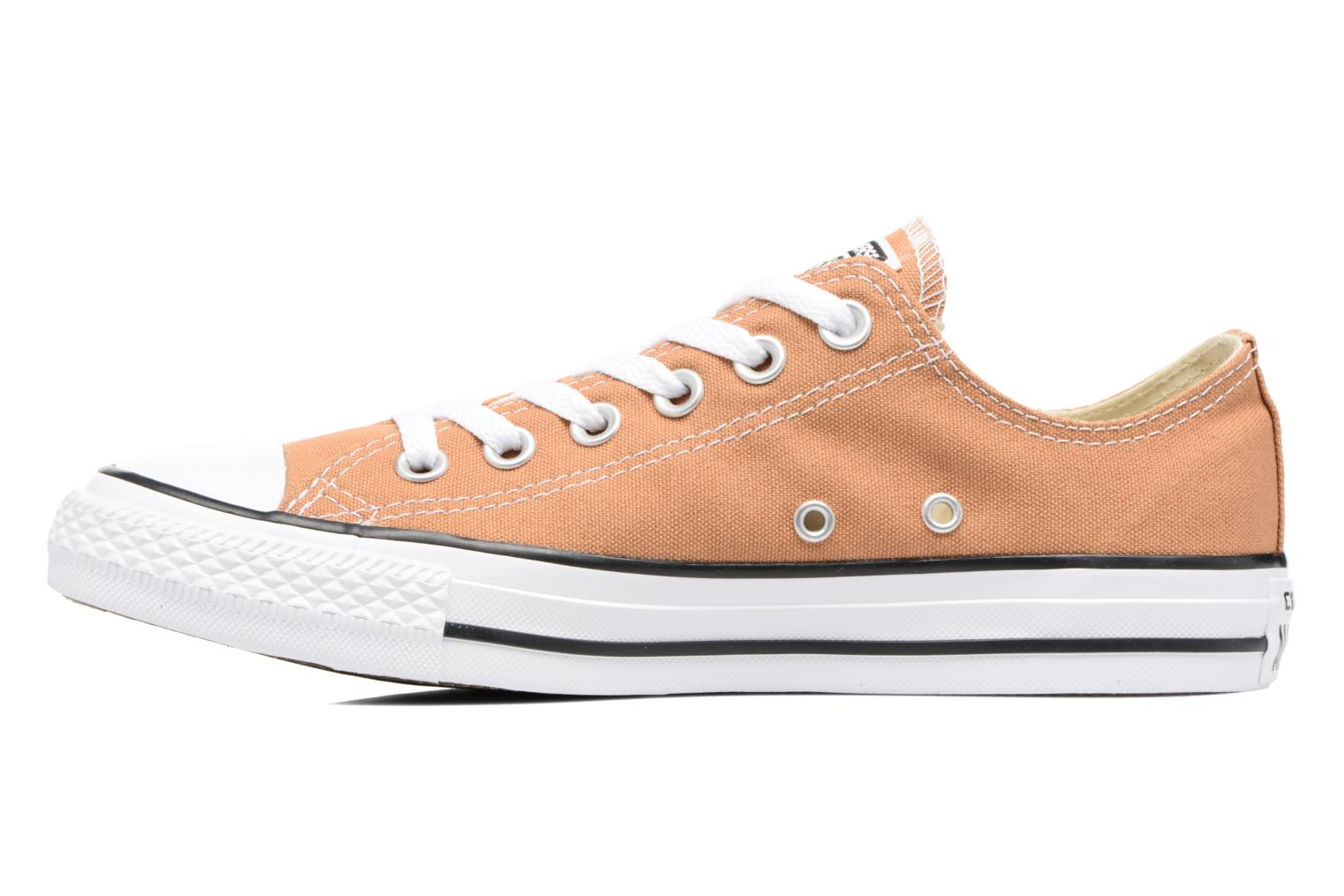 Baskets Converse Chuck Taylor All Star Ox W Orange vue face