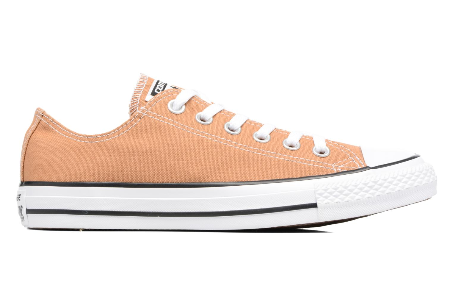 Baskets Converse Chuck Taylor All Star Ox W Orange vue derrière