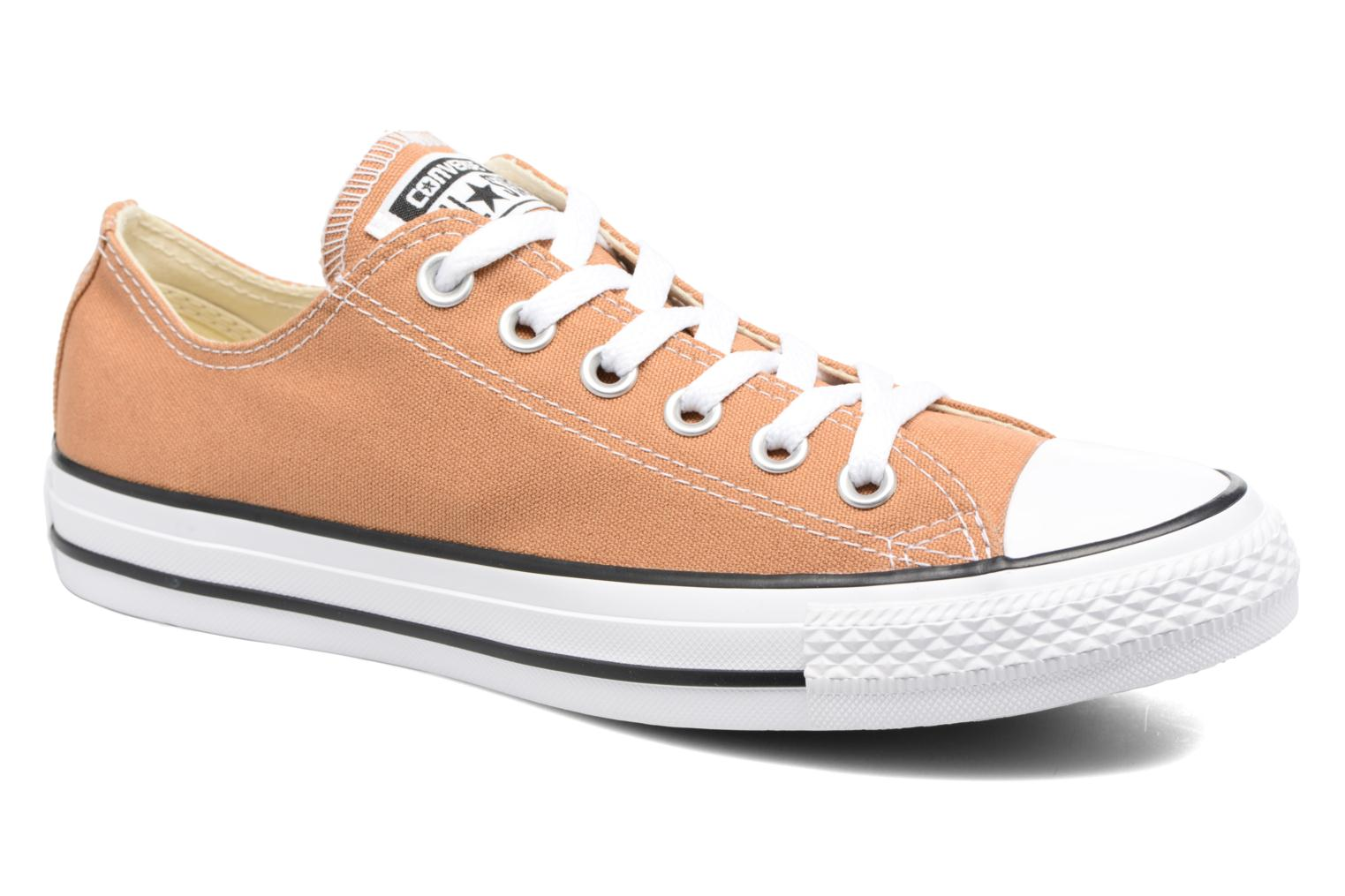 Baskets Converse Chuck Taylor All Star Ox W Orange vue détail/paire