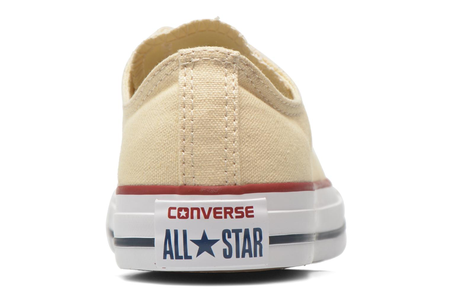 Trainers Converse Chuck Taylor All Star Ox W Beige view from the right