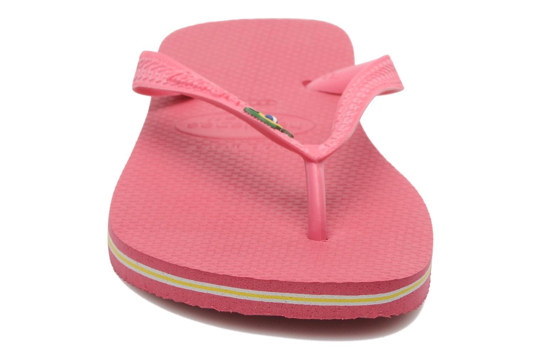 Flip flops & klipklapper Havaianas Brazil Femme Pink se skoene på