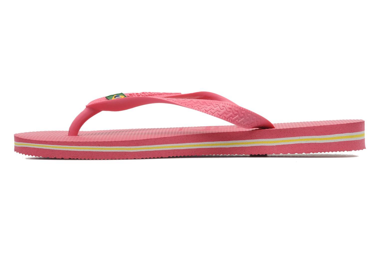 Flip flops & klipklapper Havaianas Brazil Femme Pink se forfra