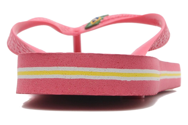 Flip flops & klipklapper Havaianas Brazil Femme Pink Se fra højre