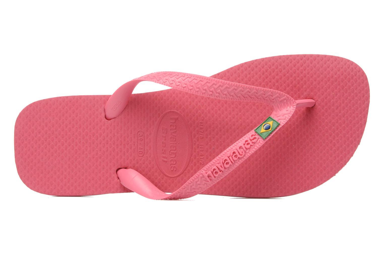 Flip flops & klipklapper Havaianas Brazil Femme Pink se fra venstre