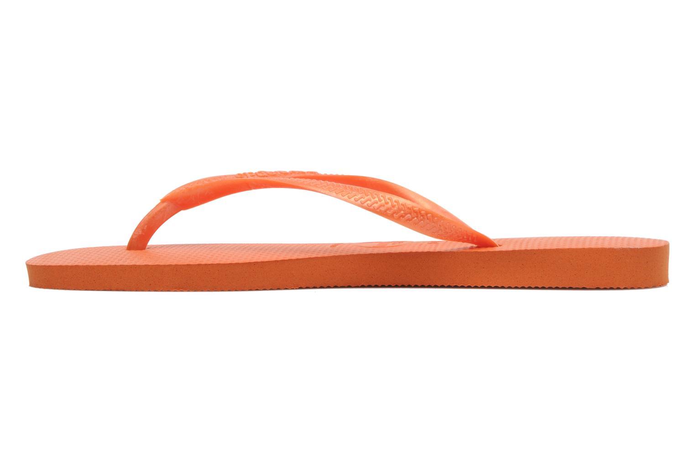 Slim Metallic F Neon Orange