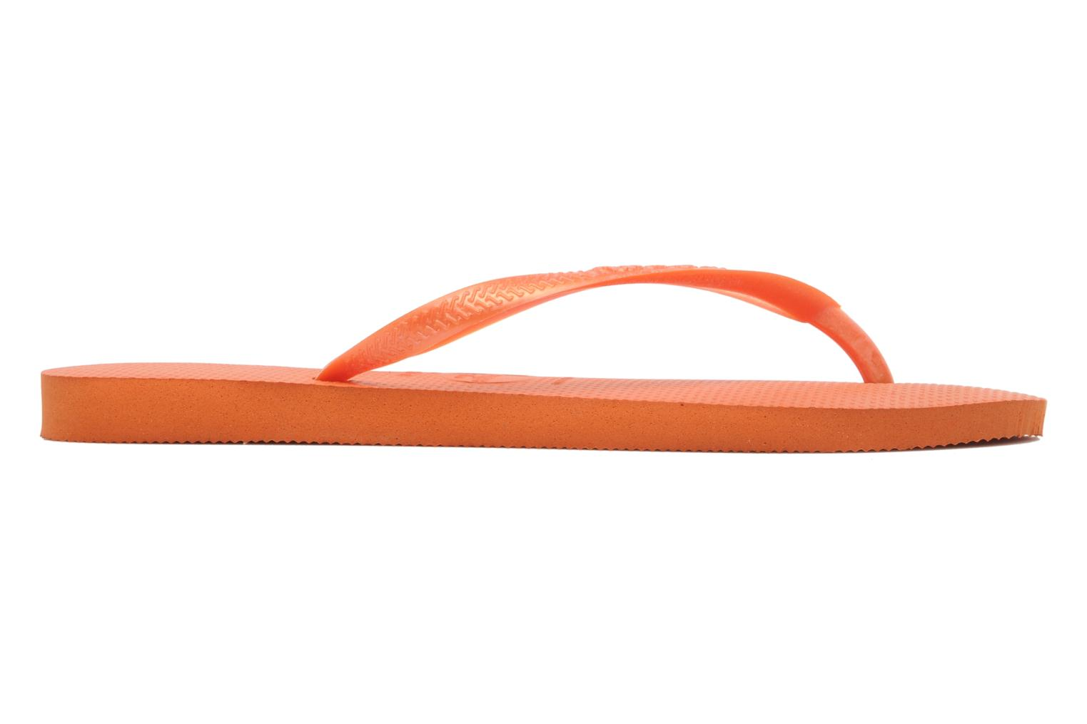 Slim Metallic Femme Neon Orange