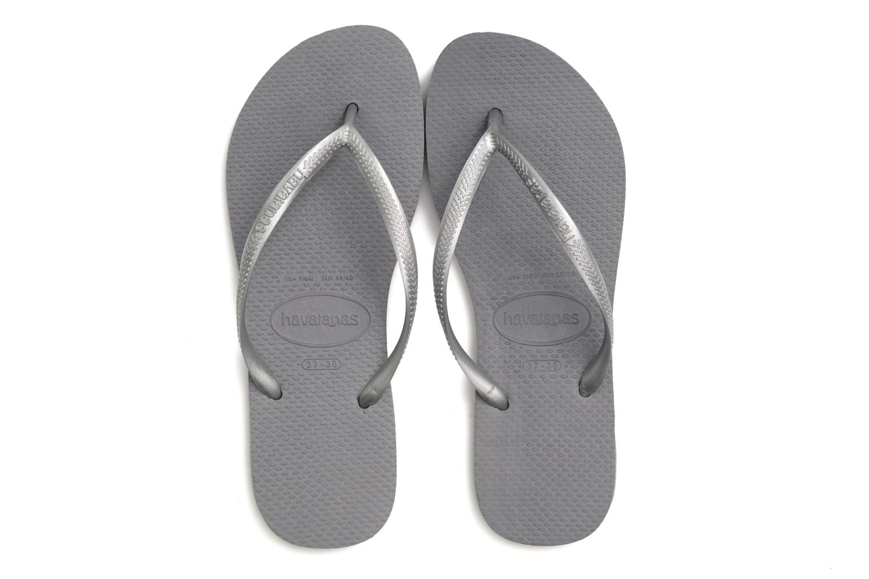Flip flops Havaianas Slim Metallic Femme Silver 3/4 bild