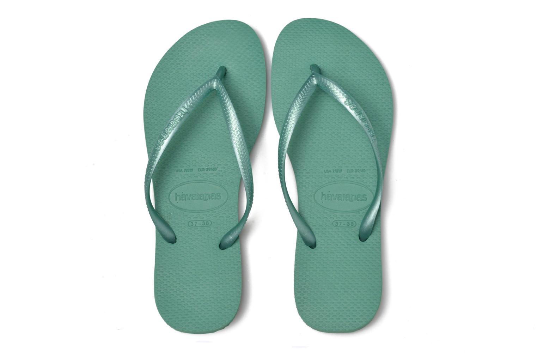 Slippers Havaianas Slim Métallic Femme Groen 3/4'