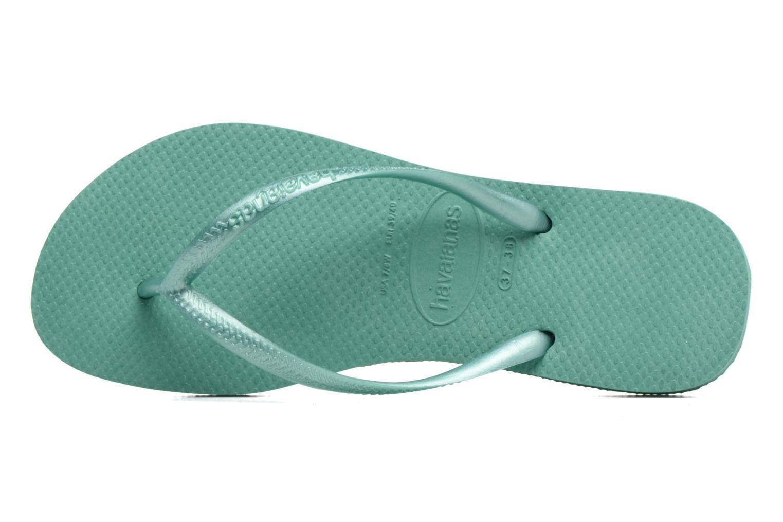 Slippers Havaianas Slim Métallic Femme Groen links