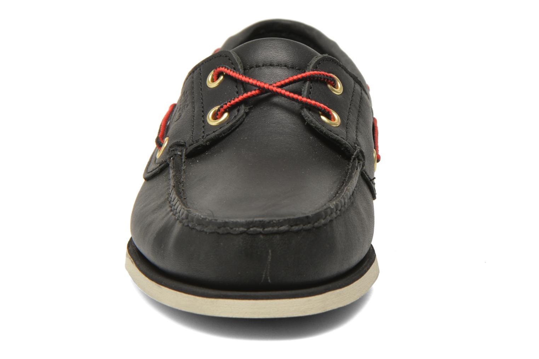 Chaussures à lacets Timberland Classic 2I Boat Noir vue portées chaussures
