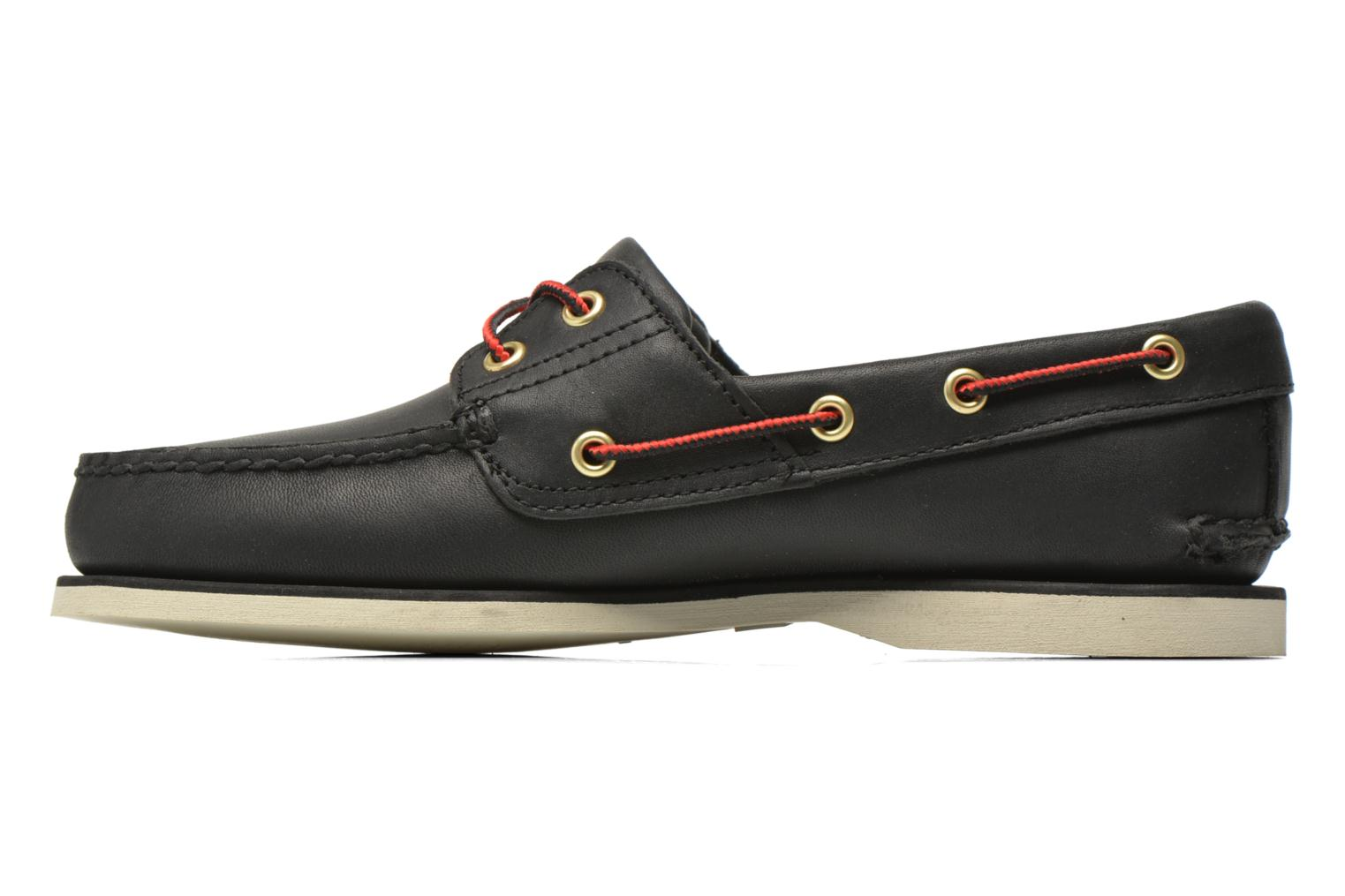 Chaussures à lacets Timberland Classic 2I Boat Noir vue face