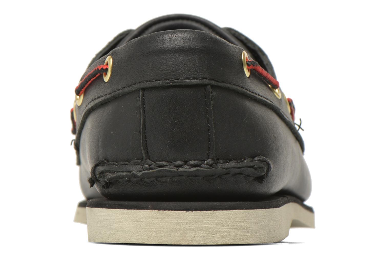 Chaussures à lacets Timberland Classic 2I Boat Noir vue droite