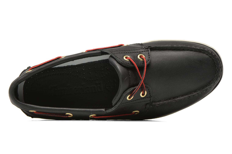 Chaussures à lacets Timberland Classic 2I Boat Noir vue gauche