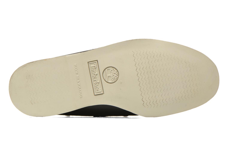 Chaussures à lacets Timberland Classic 2I Boat Noir vue haut