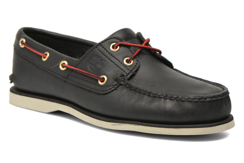 Chaussures à lacets Timberland Classic 2I Boat Noir vue détail/paire