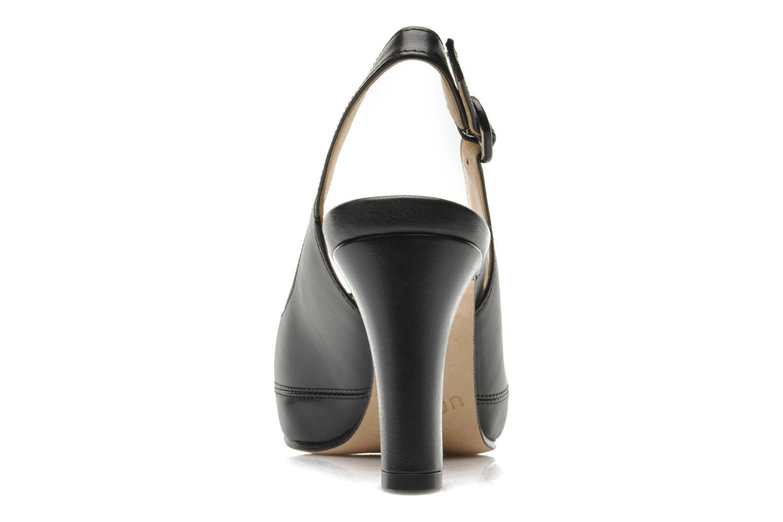 Zapatos de tacón Unisa Nick Negro vista lateral derecha