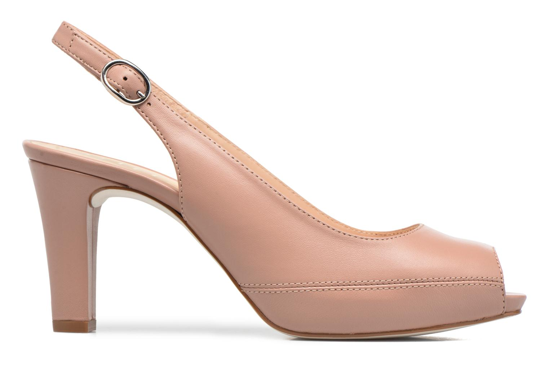 High heels Unisa Nick Pink back view