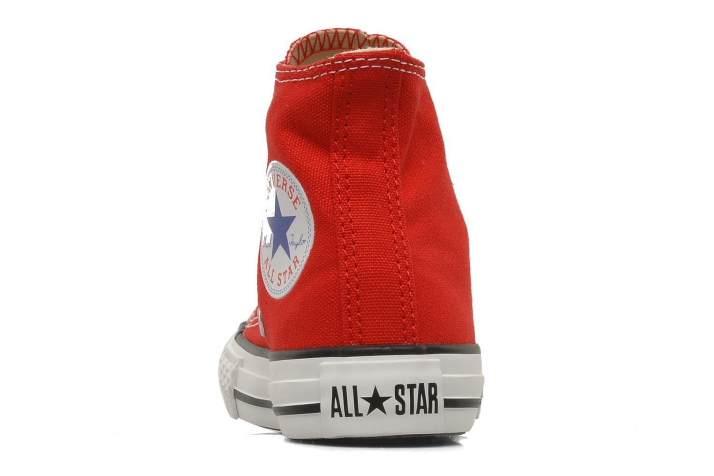 Deportivas Converse Chuck Taylor All Star Hi K Rojo vista lateral derecha