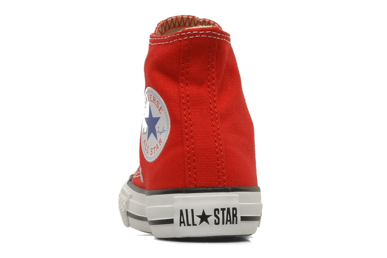 Sneakers Converse Chuck Taylor All Star Hi K Rood rechts
