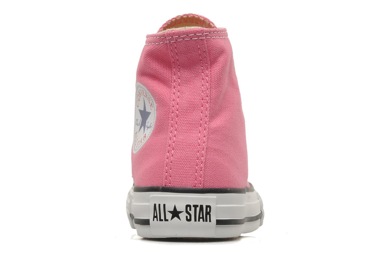 Sneaker Converse Chuck Taylor All Star Hi K rosa ansicht von rechts