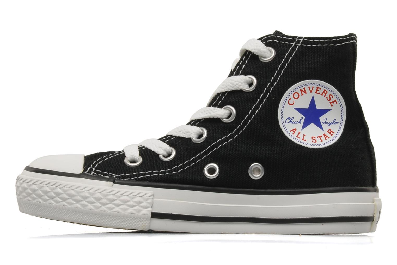Sneaker Converse Chuck Taylor All Star Hi K schwarz ansicht von vorne