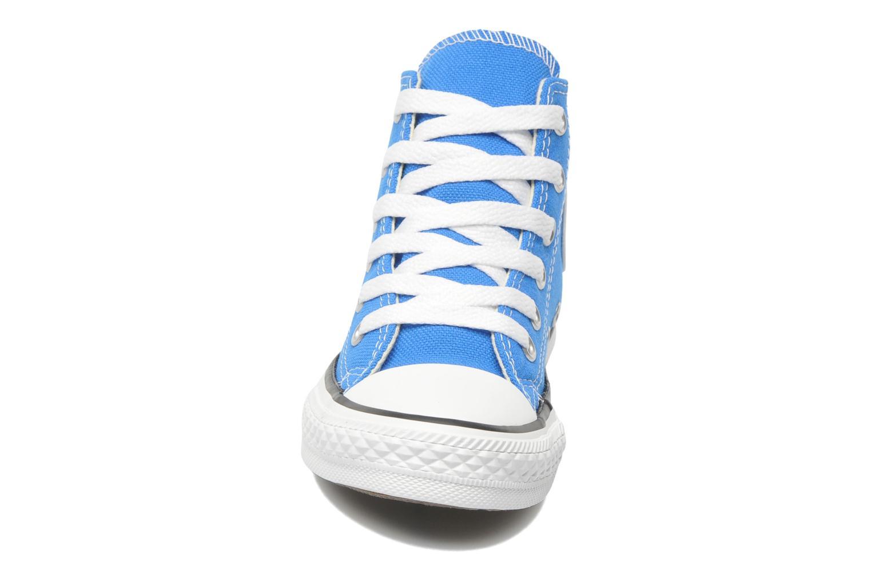 Sneaker Converse Chuck Taylor All Star Hi K blau schuhe getragen