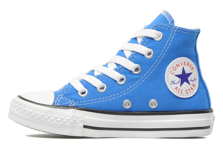 Sneaker Converse Chuck Taylor All Star Hi K blau ansicht von vorne