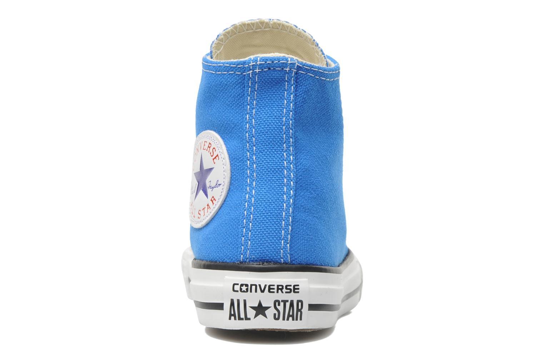 Sneaker Converse Chuck Taylor All Star Hi K blau ansicht von rechts