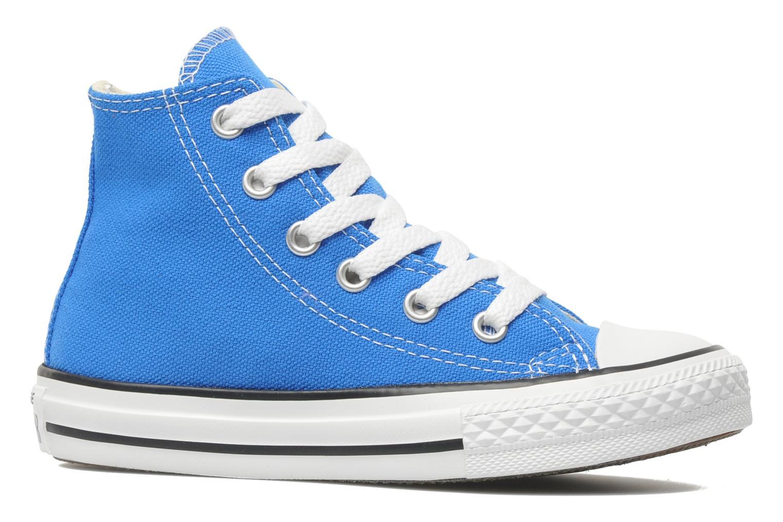 Sneaker Converse Chuck Taylor All Star Hi K blau ansicht von hinten