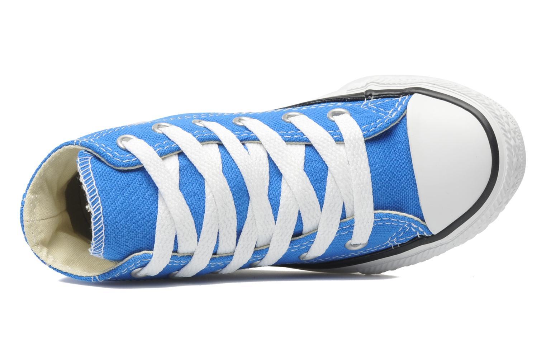 Sneaker Converse Chuck Taylor All Star Hi K blau ansicht von links