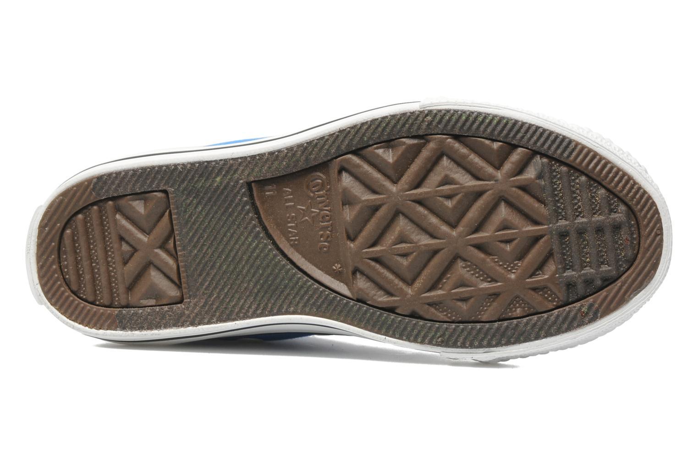 Sneaker Converse Chuck Taylor All Star Hi K blau ansicht von oben