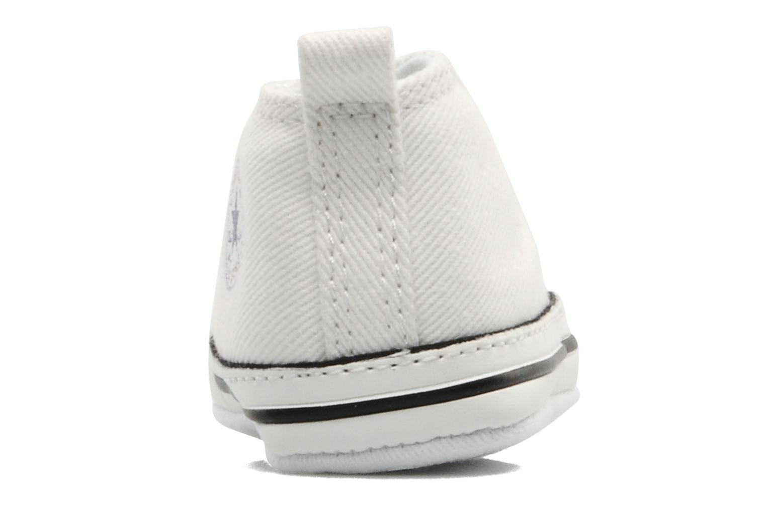 Trainers Converse First Star B White view from the right