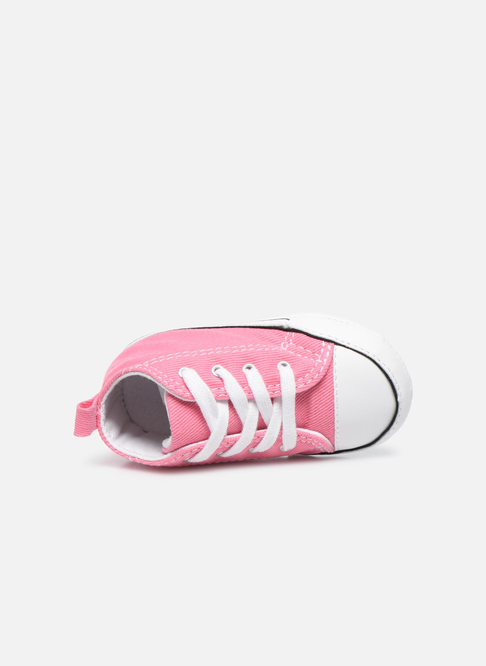 Sneaker Converse First Star Cvs rosa ansicht von links