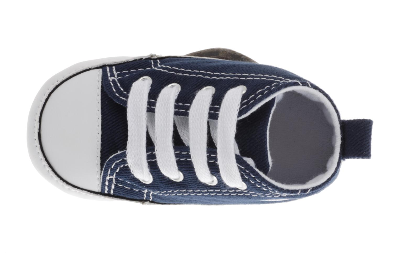 Sneaker Converse First Star Cvs blau ansicht von links