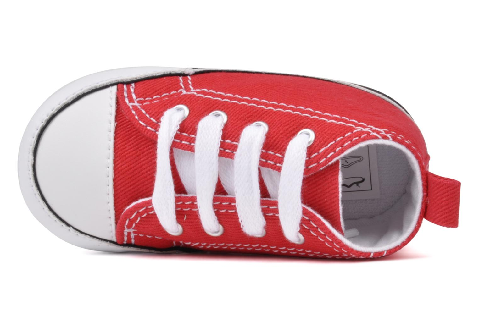 Trainers Converse First Star B Red view from the left